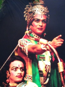 Krishna with Arjuna